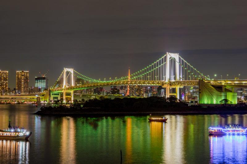 お台場の夜景(Night view of Odaiba)
