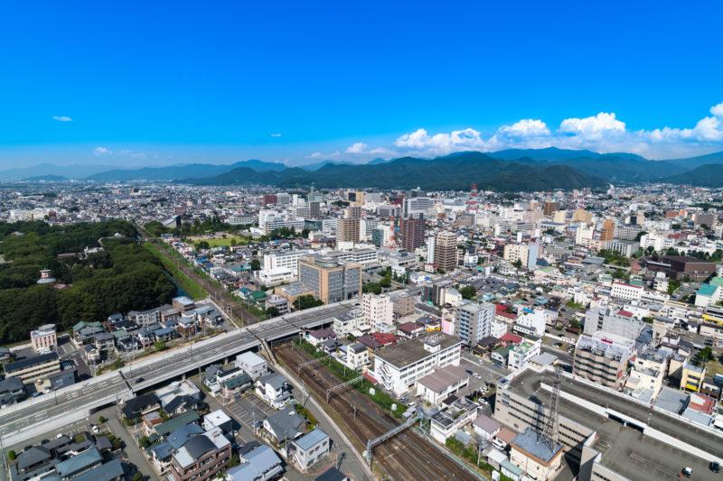 山形の街並み(Cityscape of Yamagata)