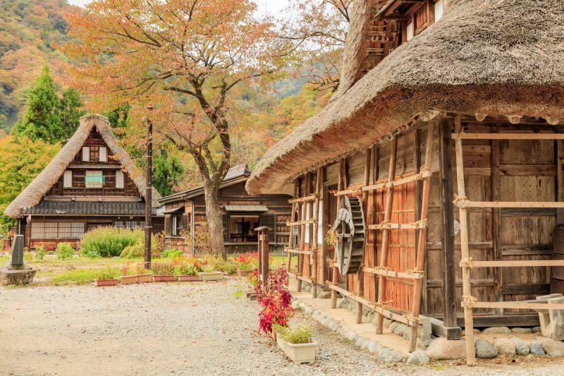 伝統を感じられる北陸の観光地(sight seeing spot with a traditional atmosphere)