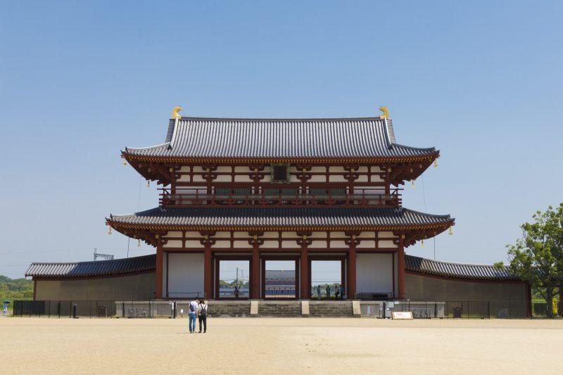 迫力ある朱雀門(Suzaku-mon Gate taking your breath)