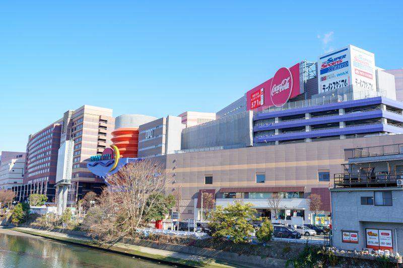 キャナルシティ博多の外観(Exterior of Canal City Hakata)