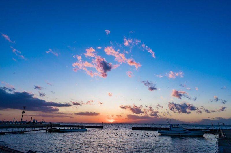 千葉港の風景(Scenery of Chiba port)