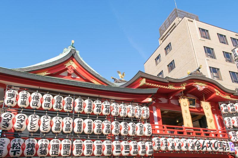 浅草酉の市開催時の鷲神社(Otori Shrine during Asakusa Tori-no-Ichi)