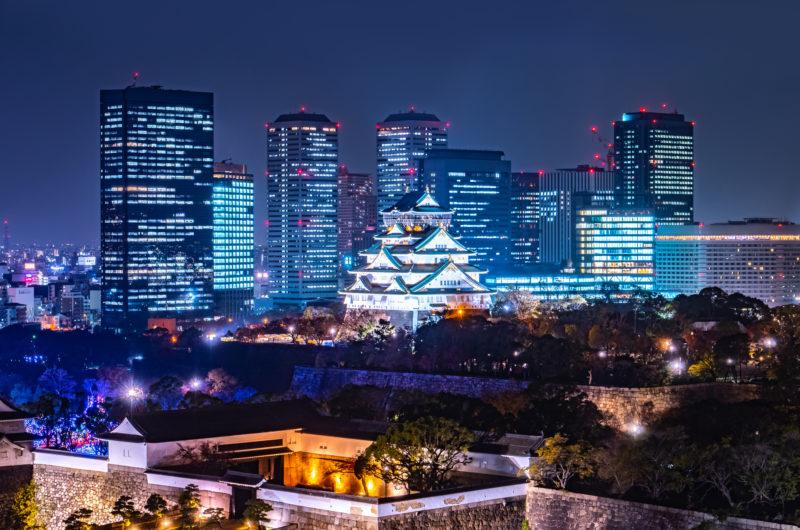 大阪城イルミナージュ(Osaka Castle Illuminage)
