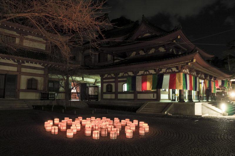 柔らかな光が広がる長谷寺(Hasedera Temple with quiant scenery)