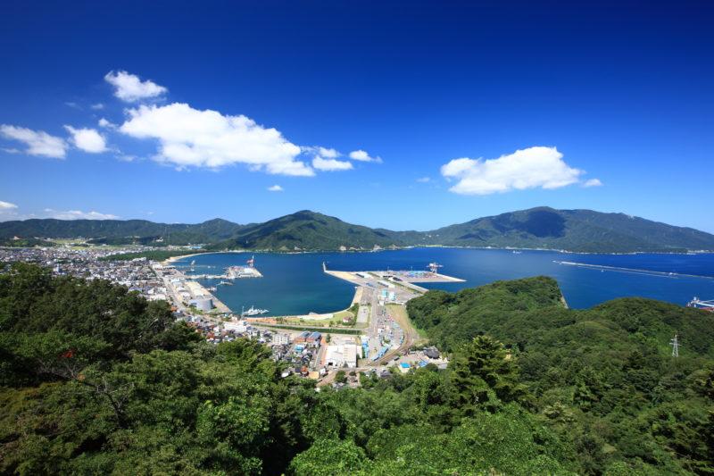 敦賀港の景色(Scenery of Tsuruga Port)