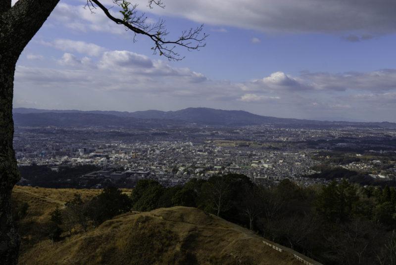 若草山から見た奈良の街並み(Citylandscape of Nara viewed from Mt. Wakakusa)