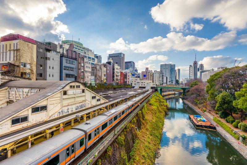お茶の水の街並み(Cityscape of Ochanomizu)