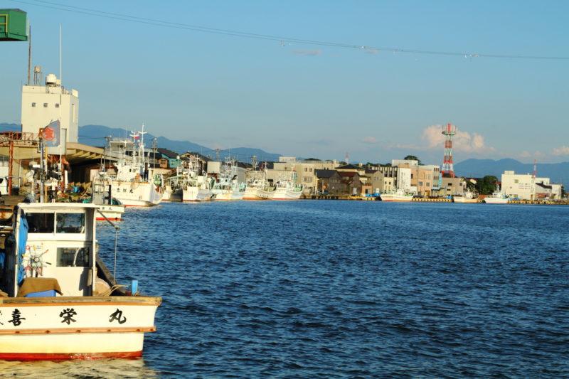 三国湊の景色(Scenery of Mikukuni Port)