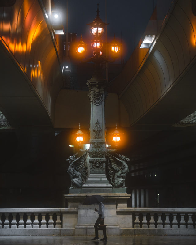 有翼の麒麟が見守る、国道の始点「日本橋」