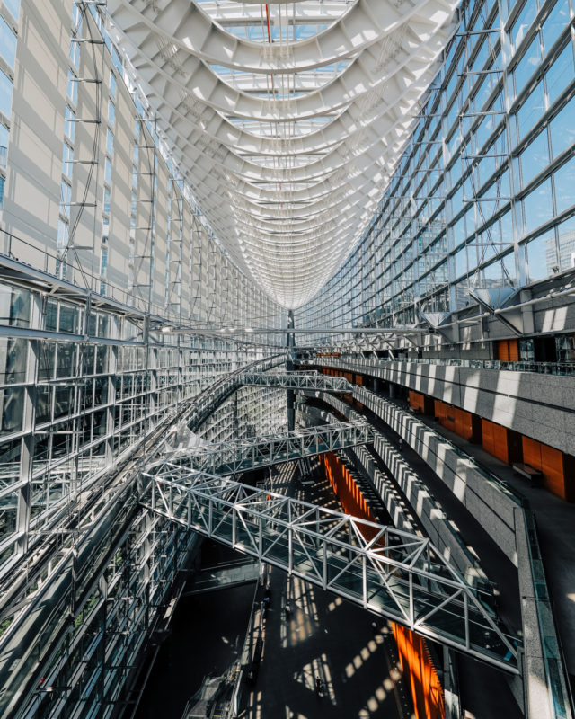 東京国際フォーラムの内観(Interior of Tokyo International Forum)