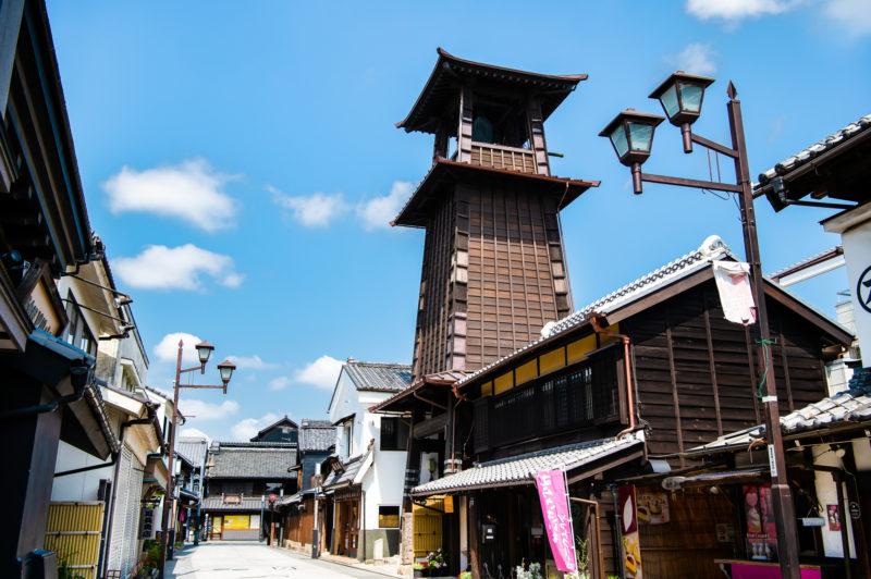 川越の街並み(Cityscape of Kawagoe)