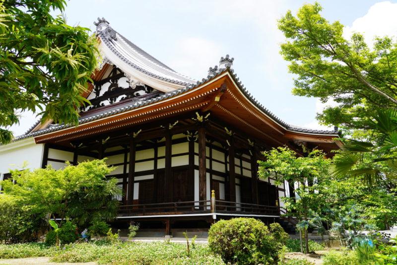 毫摂寺の外観(Exterior of Gosho-ji Temple)