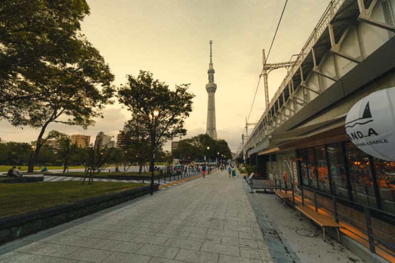 東京ミズマチ周辺の景色(Streetscape around Tokyo Mizumachi)