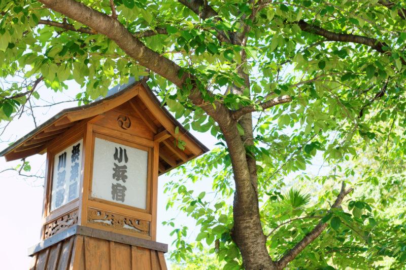 小浜宿の街角(Cityscape of Kohamajuku)