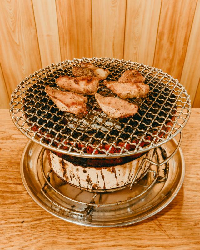 黒こしょう味の豚タン(Pork tongue seasoned with black pepper)
