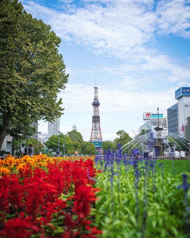 春のピークを迎える5月の札幌へ。4,700本もの花木に囲まれた公園、桜と梅が競演する寺院、自然とランドマークを一望できる展望台を巡る絶景旅