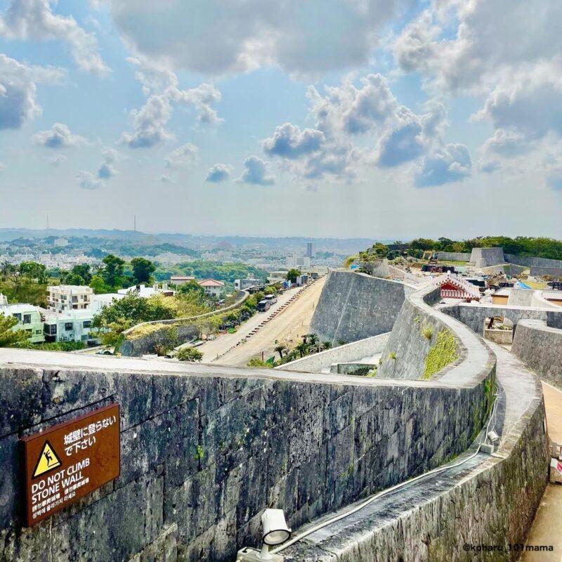 首里城からの景色(View from Shuri Castle)