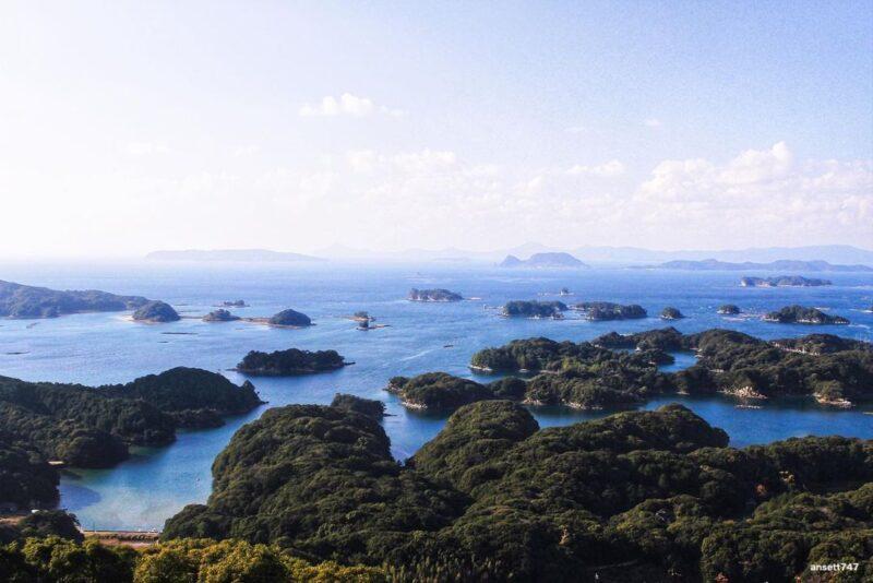 九十九島の景色(Scenery of Kujukushima Islands)