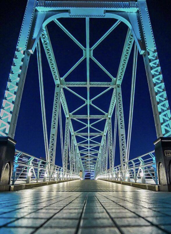 ふれあい橋(Fureai Bridge)