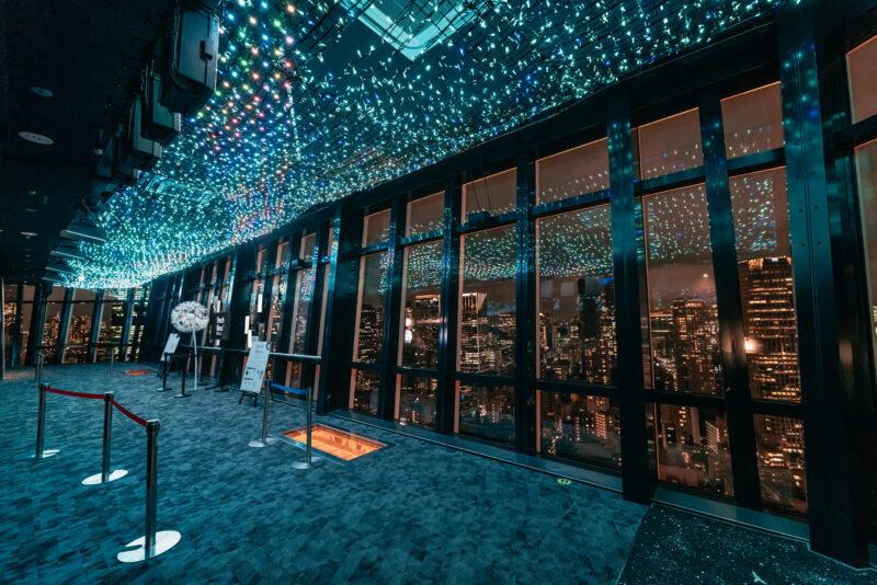 東京タワー天の川イルミネーション1(Tokyo Tower's Milky Way Illumination)