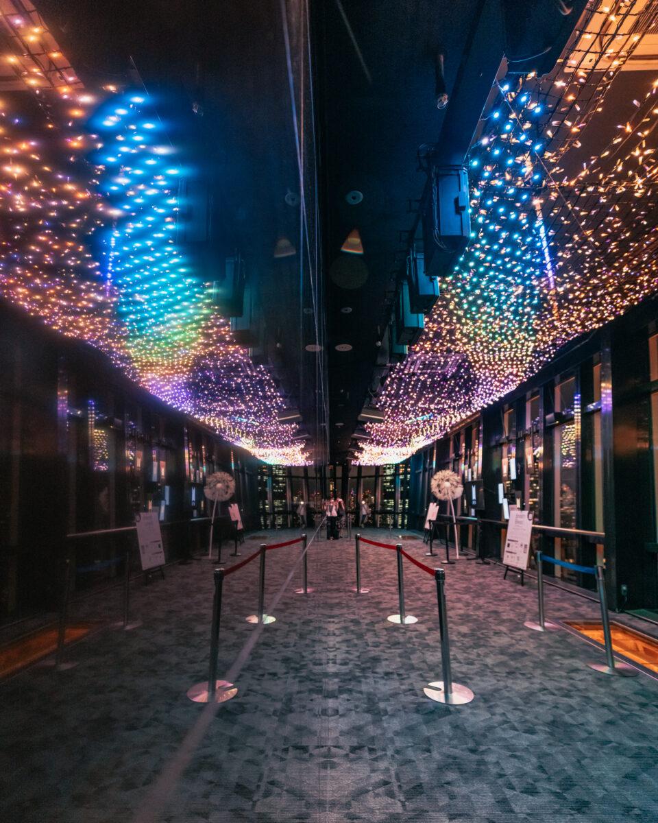 東京タワー天の川イルミネーション2(Tokyo Tower's Milky Way Illumination)