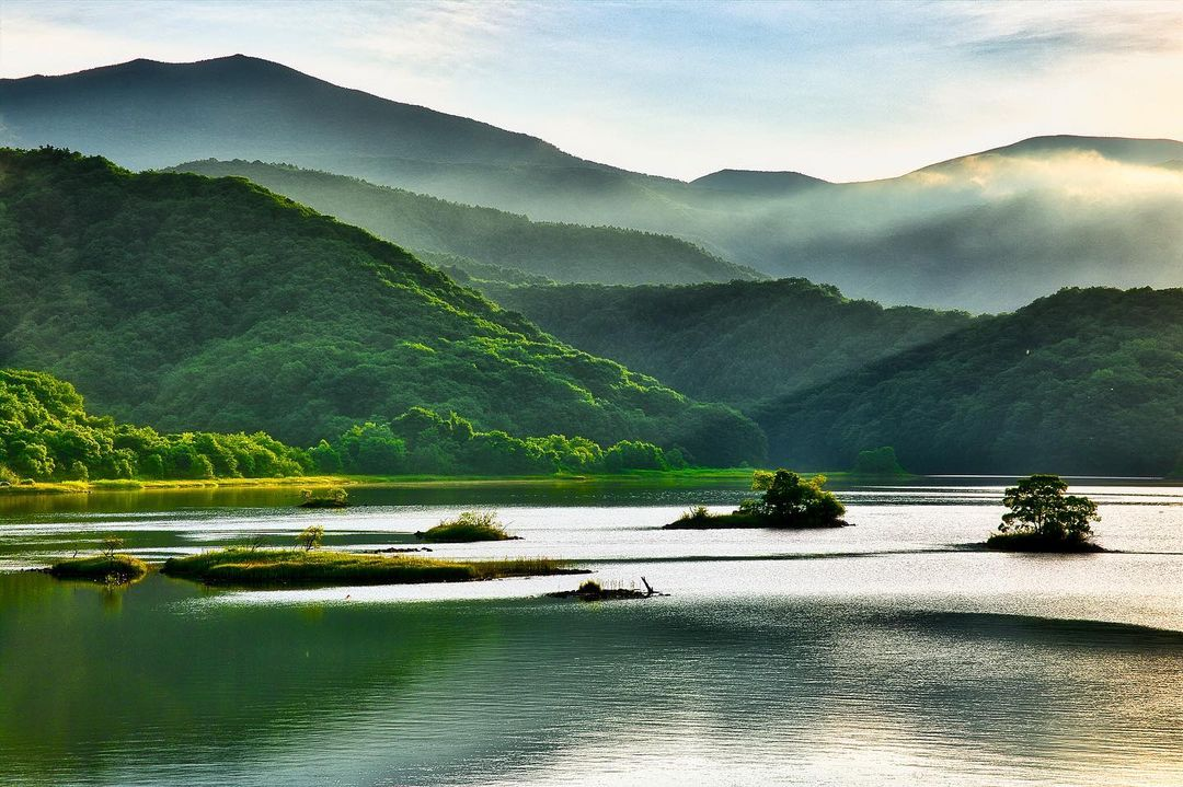 秋元湖(Lake Akimoto)