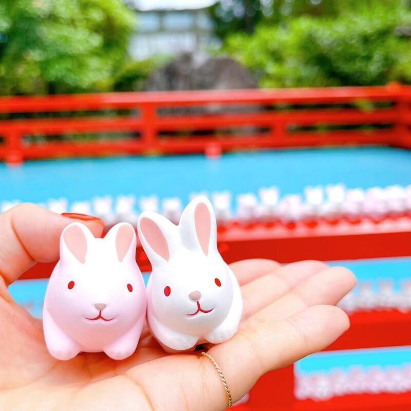 うさぎおみくじ(Rabbit fortune)