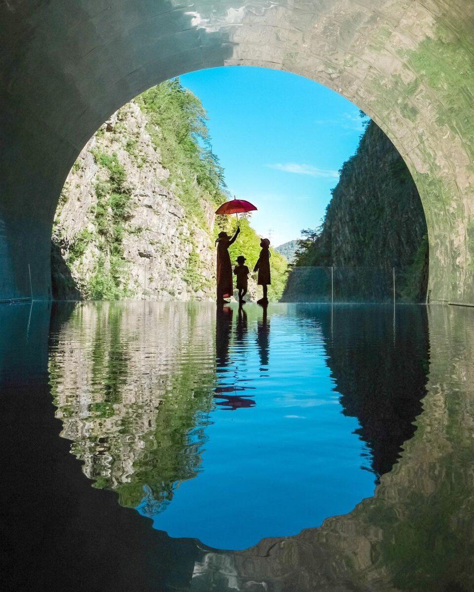 清津峡(Gorge kiyotsukyo)